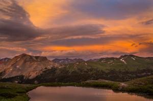 Black Bear Pass at Sunset