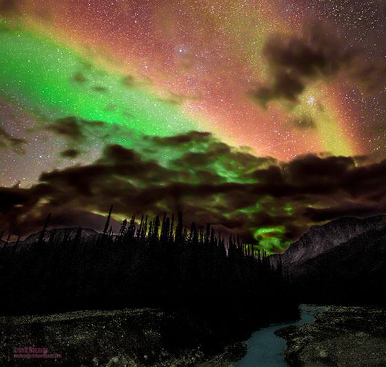Arctic National Wildlife Refuge, Alaska ...Nikon D800E /14-24 Nikkor f2.8 / 30 seconds/ ISO 2200 -- Photo by Jeff Stamer