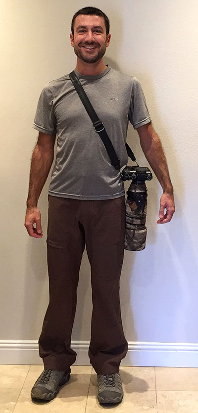 Camera Strap For Nature Photographers
