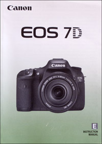 Canon 7D (instruction manual)