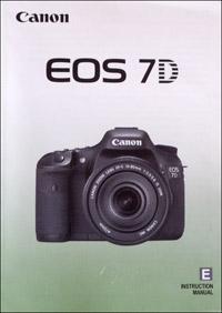 Canon 7D (instruction manual)