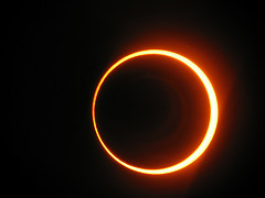 Annular Eclipse / Photo by Abel Lopez (used under the CC-Attr 2.0 license)