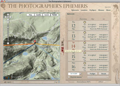 Photographer's Ephemeris